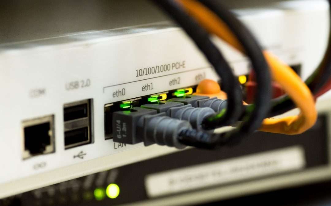 Network router with security