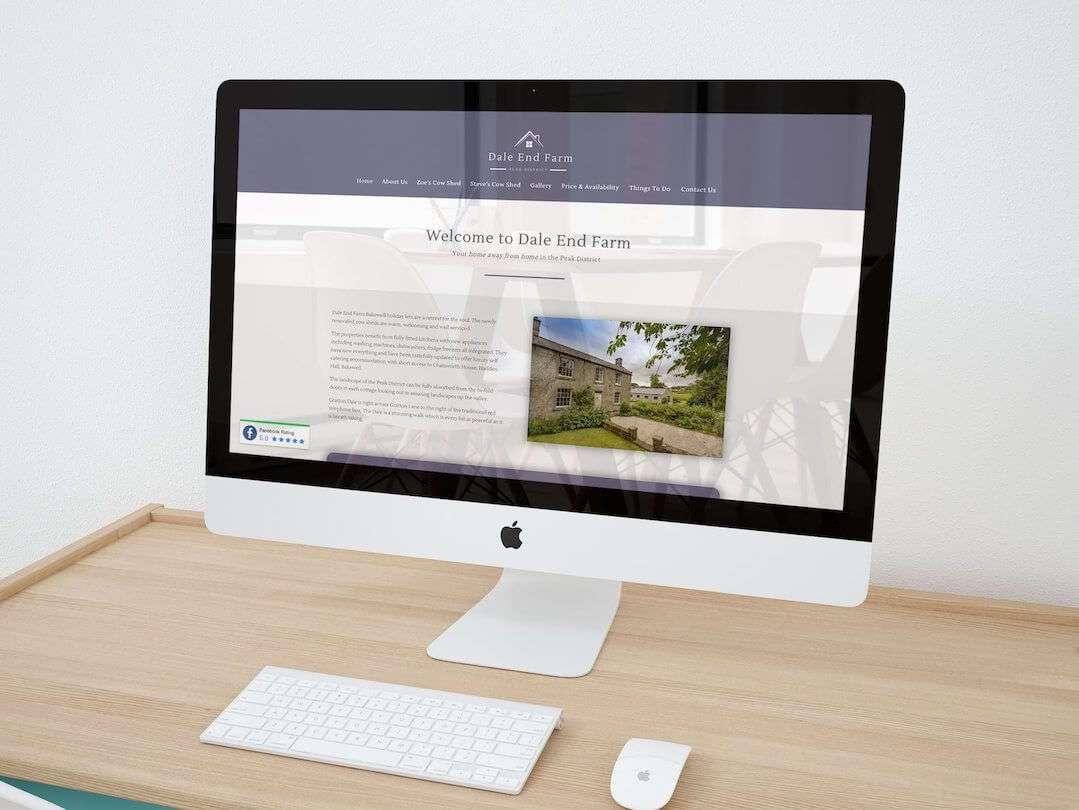 Dale End Farm Holiday Cottages Website Design