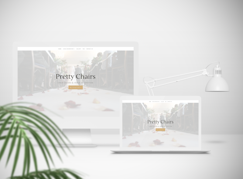 Pretty Chairs Website Design