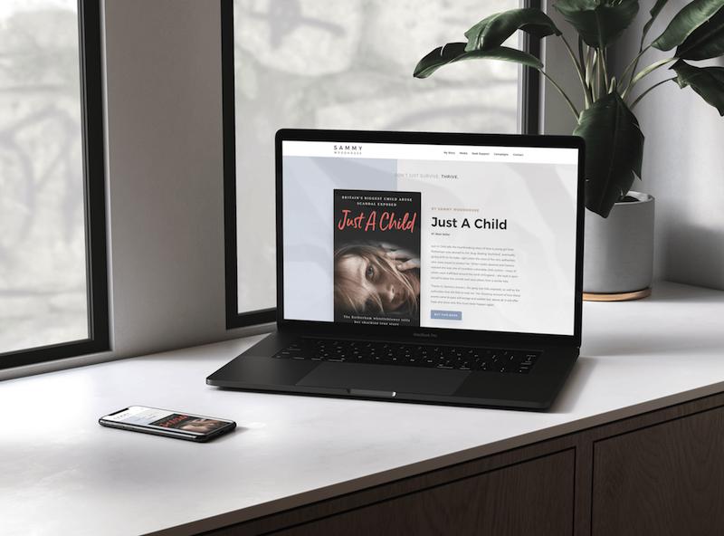 Sammy Woodhouse Website Design