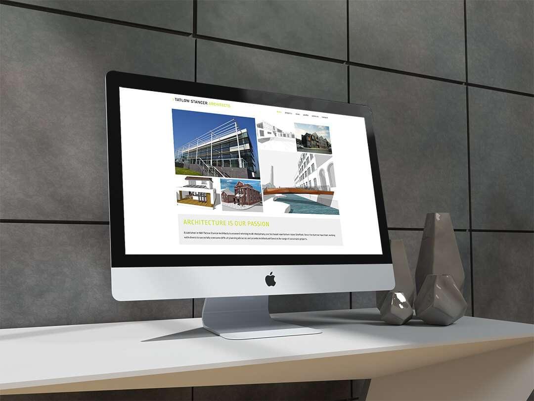 Tatlow Stancer Architects Website Design