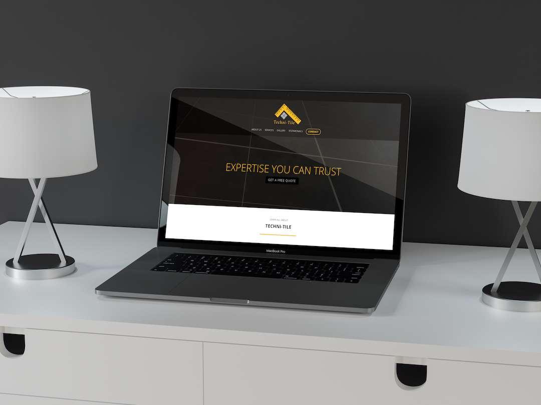 Techni Tile Website Design