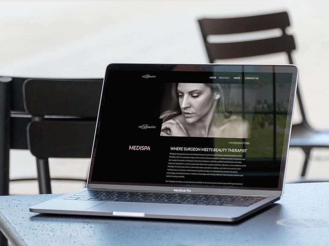 U R Beautiful Website Design