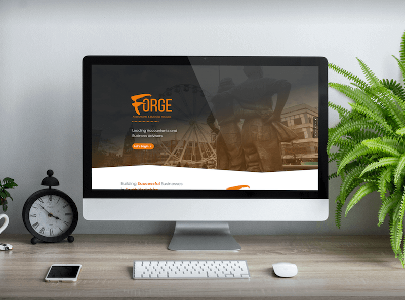 Forge Accountants Website Design