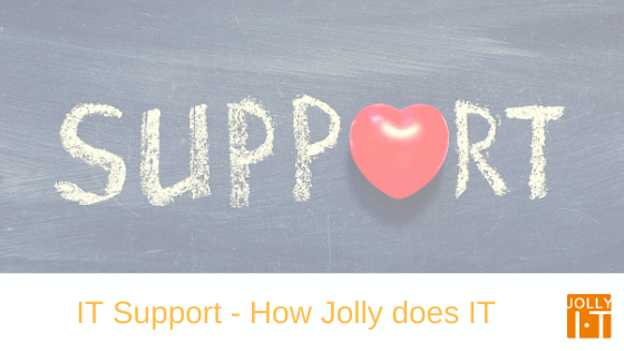 support for IT with a heart