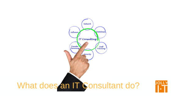 IT consultant, what do they do?
